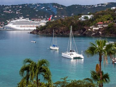 PHOTO: A view of the bay in the US Virgin Island of St. Thomas is seen in this undated stock photo.