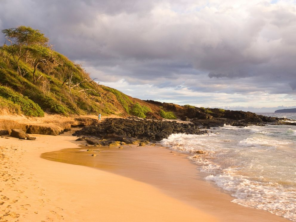 PHOTO: Big Beach In Wailea, Maui, Hawaii.