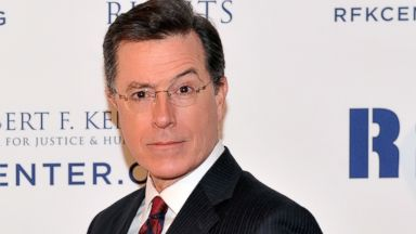 PHOTO: Stephen Colbert attends Robert F. Kennedy Center For Justice And Human Rights 2013 Ripple Of Hope Awards Dinner at New York Hilton Midtown, Dec. 11, 2013, in New York City.