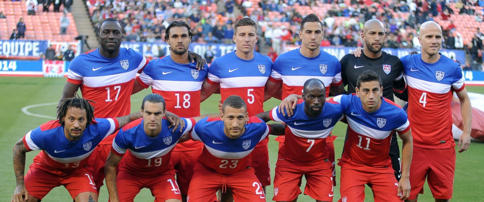 PHOTO: The United States will go toe to toe with its rival, Ghana tonight.