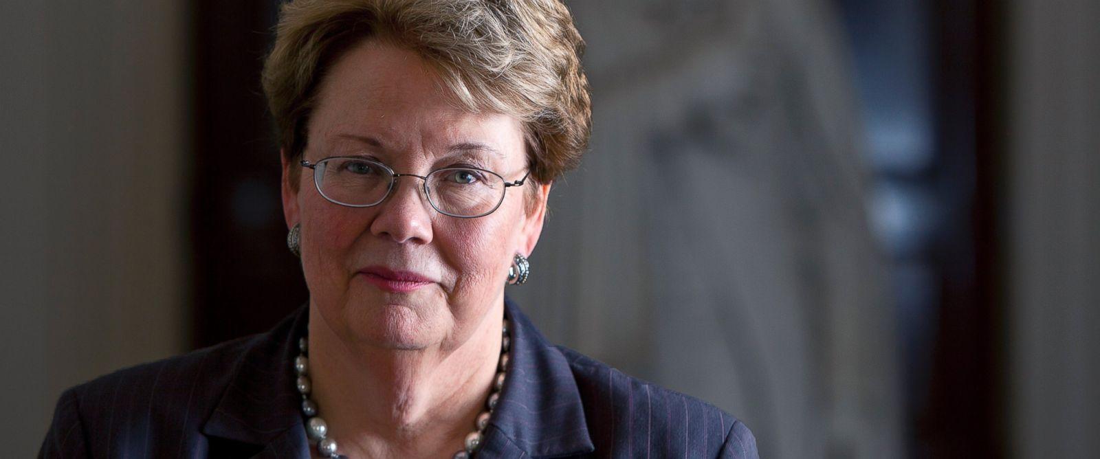 PHOTO: Teresa Sullivan, President of the University of Virginia poses for a portrait, Aug. 1, 2012.