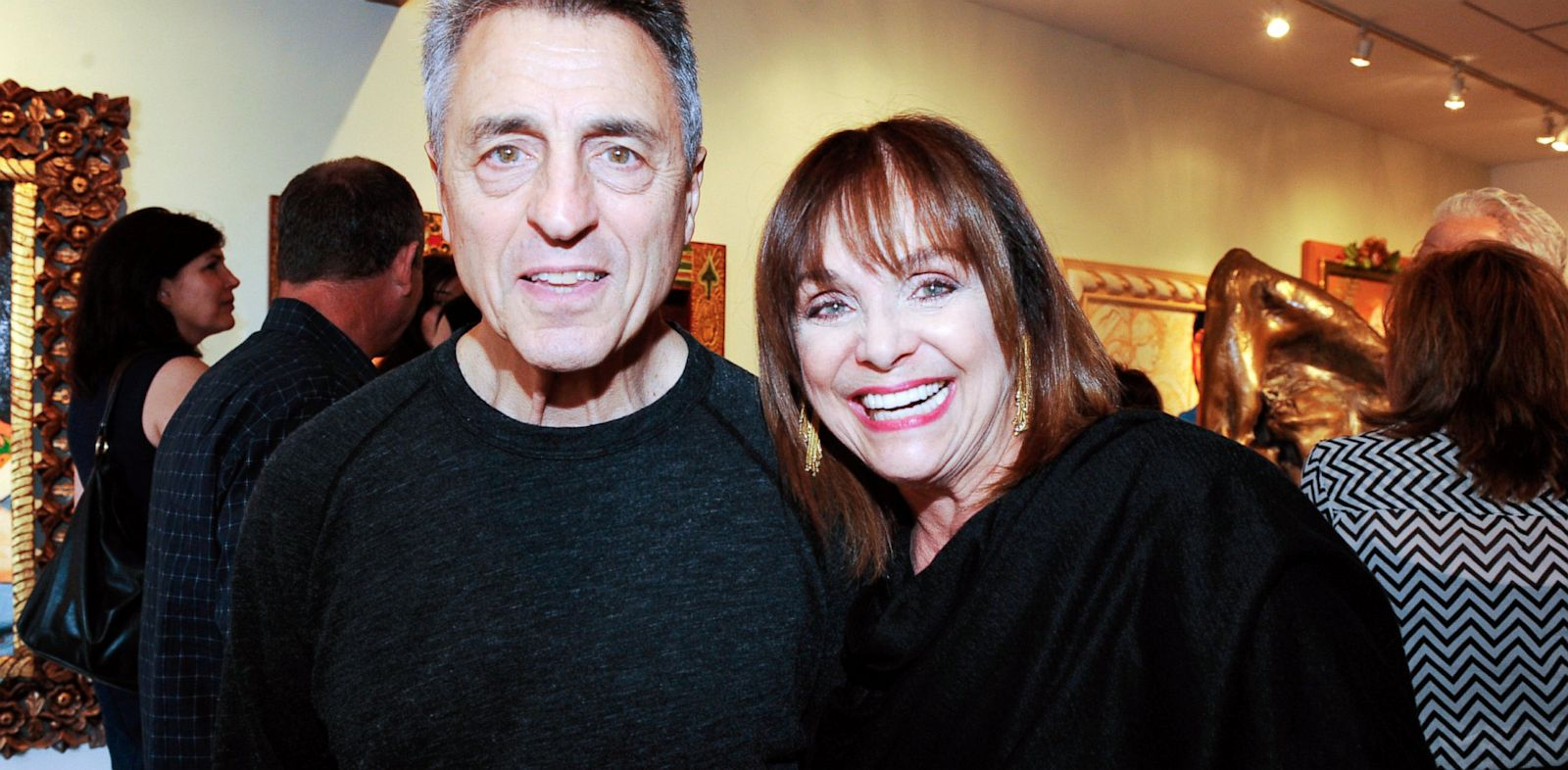 PHOTO: Tony Cacciotti and Valerie Harper