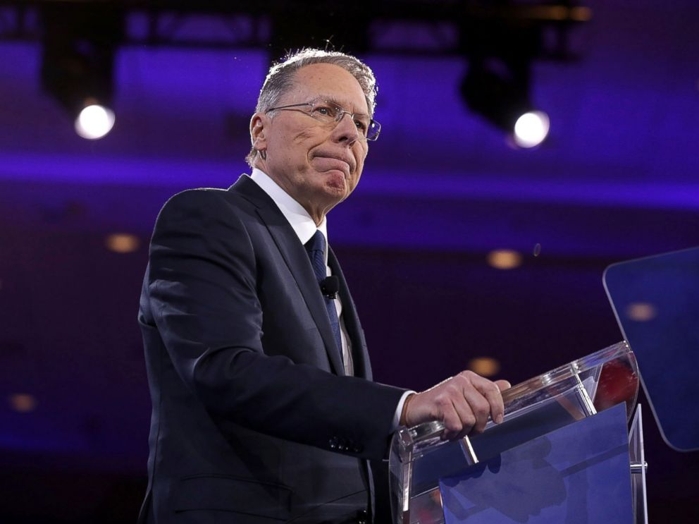PHOTO: Executive Vice President of the National Rifle Association Wayne LaPierre speaks during the Conservative Political Action Conference (CPAC), March 3, 2016, in National Harbor, Md.