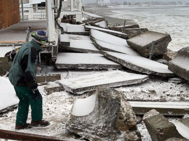 New England Digging Out After Getting Slammed by Storm