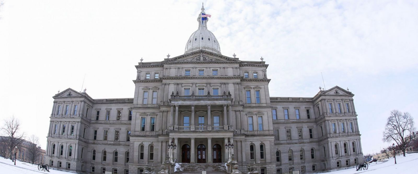 PHOTO: The State Capitol Building in Lansing, Michigan, March 6, 2016.