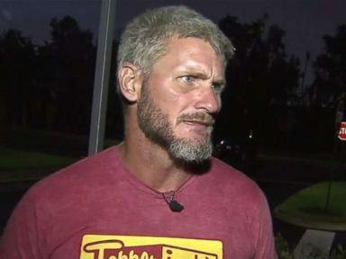 Homeless veteran rushes to save victim after life-threatening car crash
