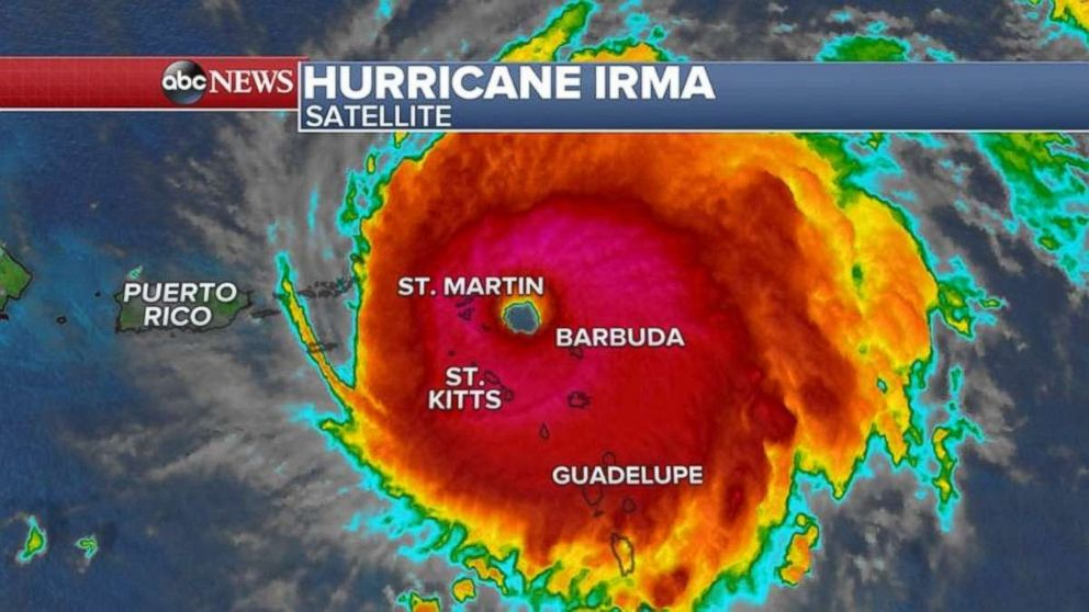 Hurricane Irma destroys 90 percent of structures, vehicles on Barbuda