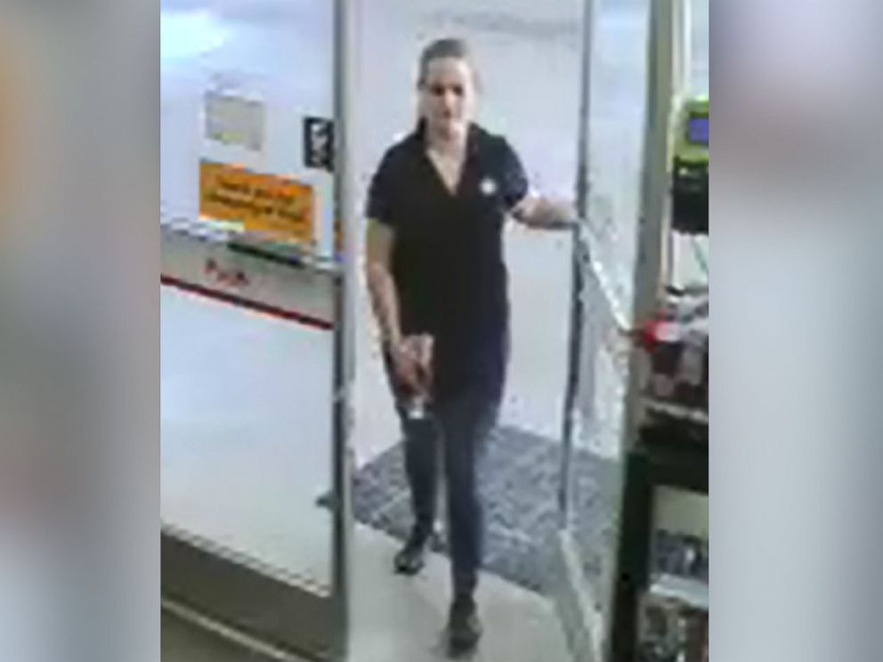 PHOTO: Surveillance cameras captured Allison Cope at a Shell gas station in Wake Forest, N.C., at approximately 4:15 p.m. ET on June 26, 2017.