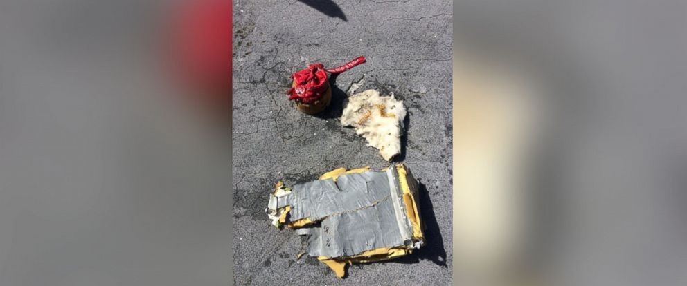 Photo The Coast Guard Says This Image Of Debris Confirmed Components Of An Mu