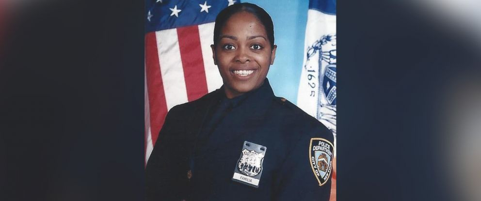 PHOTO: Officer Miosotis Familia, a 12-year veteran assigned to the New York City Police Departments 46th Precincts Anti-Crime unit, was fatally shot, July 4, 2017.