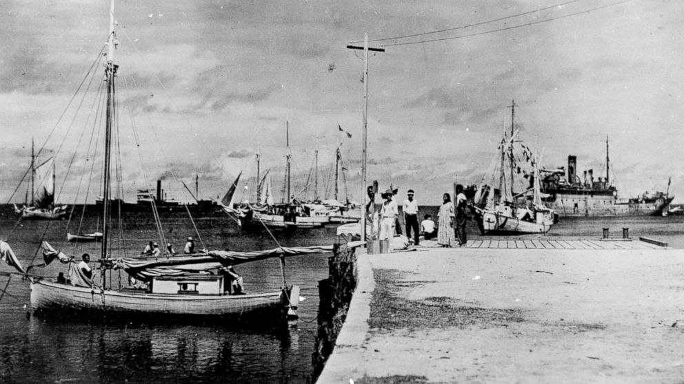 Newly discovered photo suggests that Amelia Earhart may have survived crash landing in the Marshall Islands