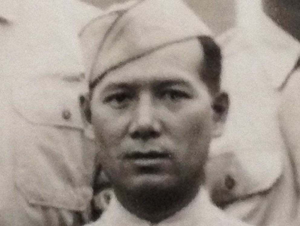 PHOTO: Nick Lees grandfather, Wei-Lim Lee, served in U.S. Army in World War II.