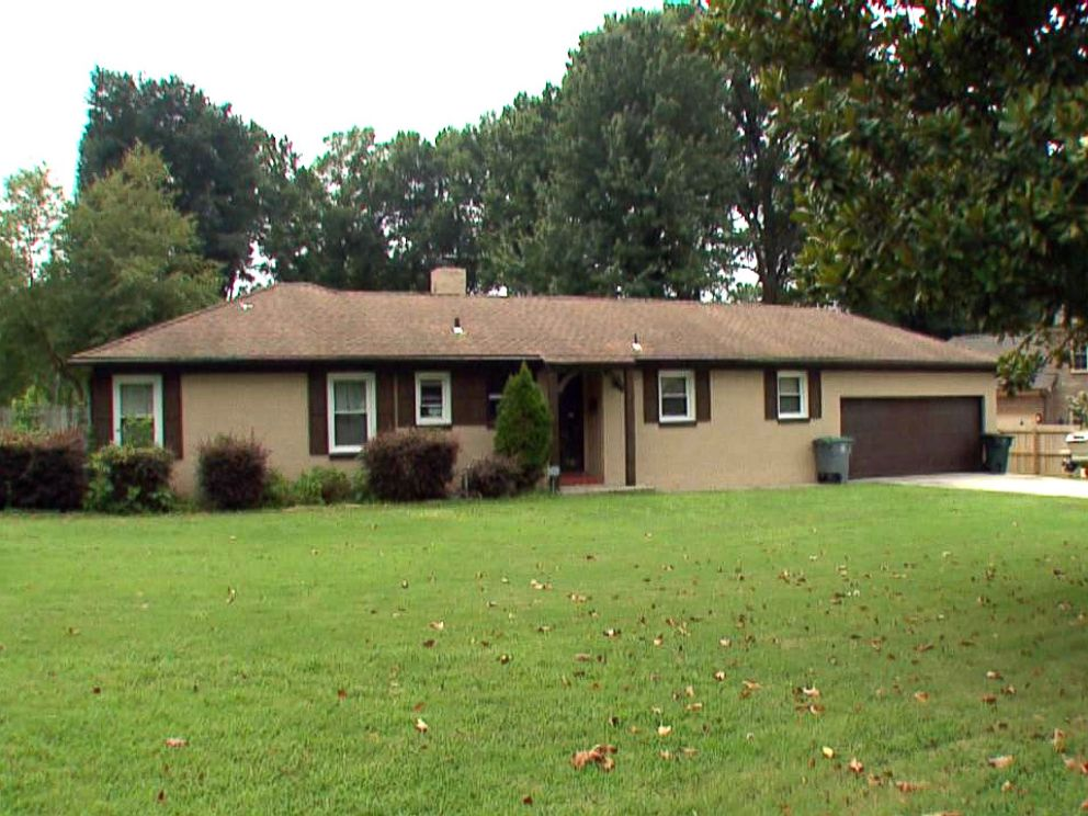 PHOTO: The house where Noura Jacksons mother Jennifer Jackson was stabbed to death is pictured here.