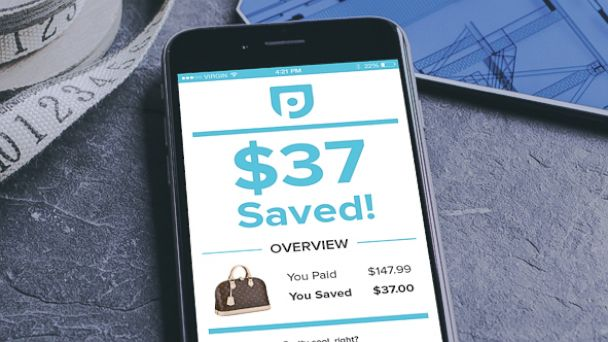 PHOTO: Paribus is an app that helps users save money while online shopping.