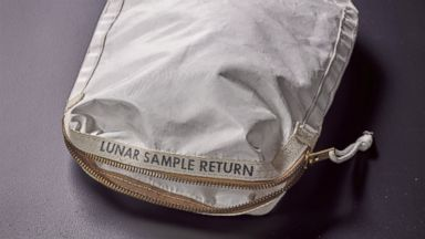 Bag containing moon dust from Apollo 11 expected to sell for millions at auction