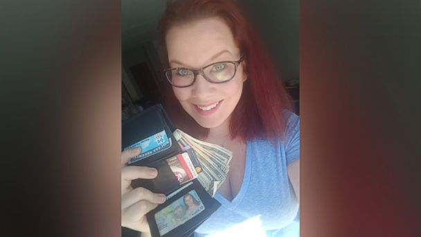 PHOTO: Courtney Connolly, 30, of West Roxbury, Mass., said her wallet was returned virtually untouched eight years after it was stolen from her car.