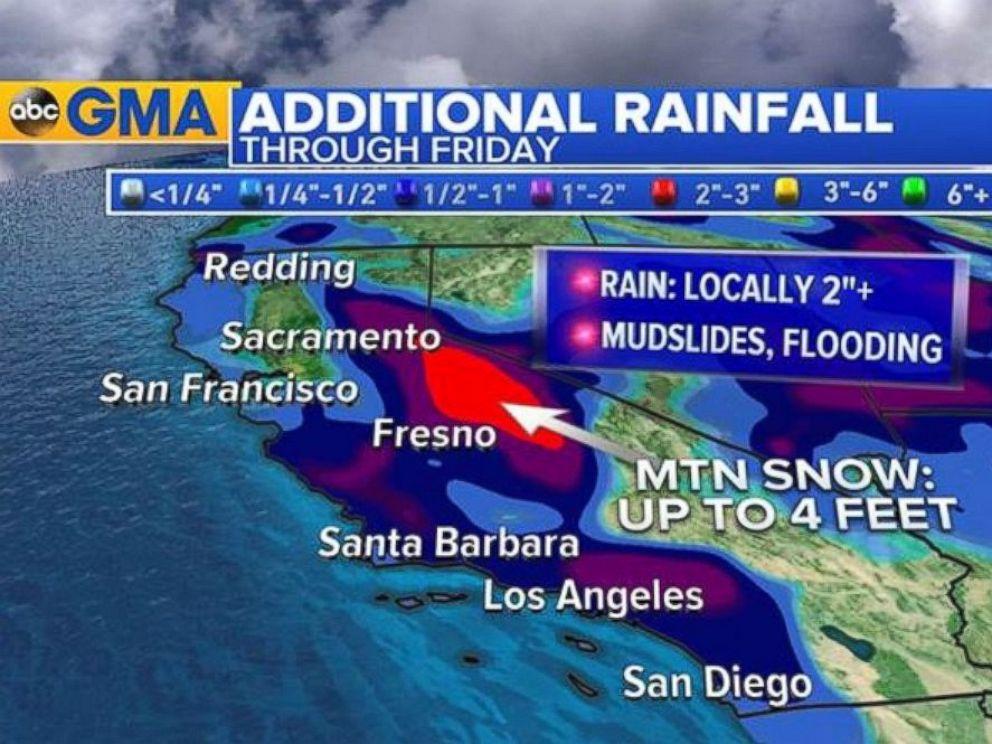 New Storm Dumps More Rain in Southern California