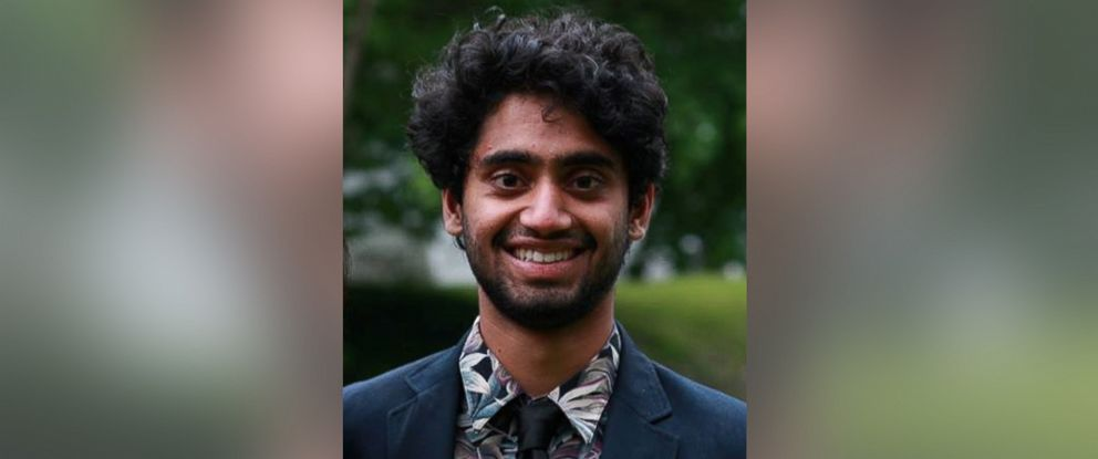 PHOTO: Aalaap Narasipura, a 20-year-old Cornell University student, was last seen in the early morning hours of May 17, 2017.