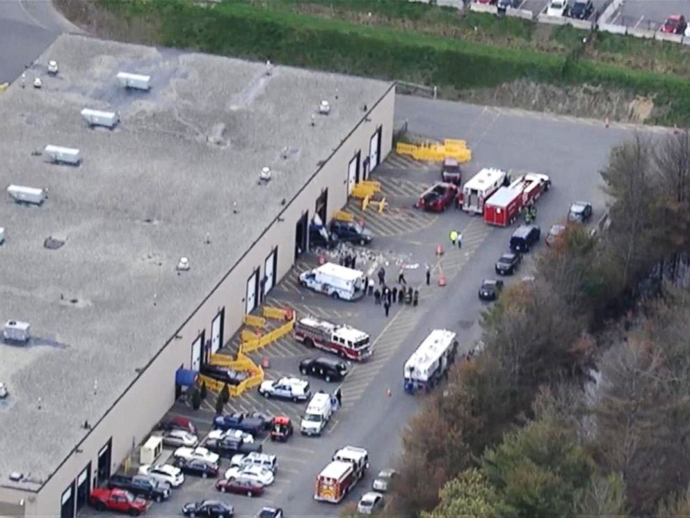 Three dead after crash at Massachusetts car auction