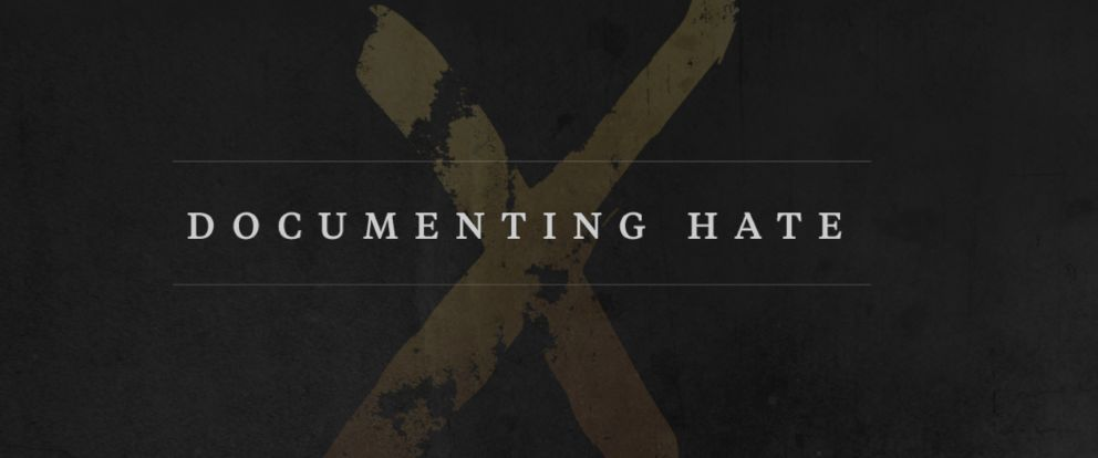 "PHOTO: ProPublicas ""Documenting Hate"" project."