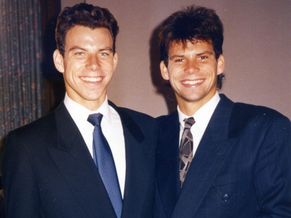 PHOTO: Lyle Menendez, right, is seen here as a young man in this undated family photo.