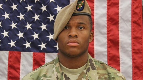 PHOTO: U.S. Army Spc. Etienne J. Murphy, 22, died as a result of a non-tactical vehicle roll over in the vicinity of northern Syria, May 26, 2017.