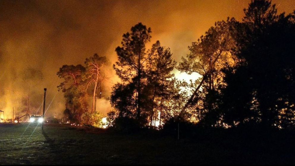 Wildfire brings evacuations, road closures in Lake County