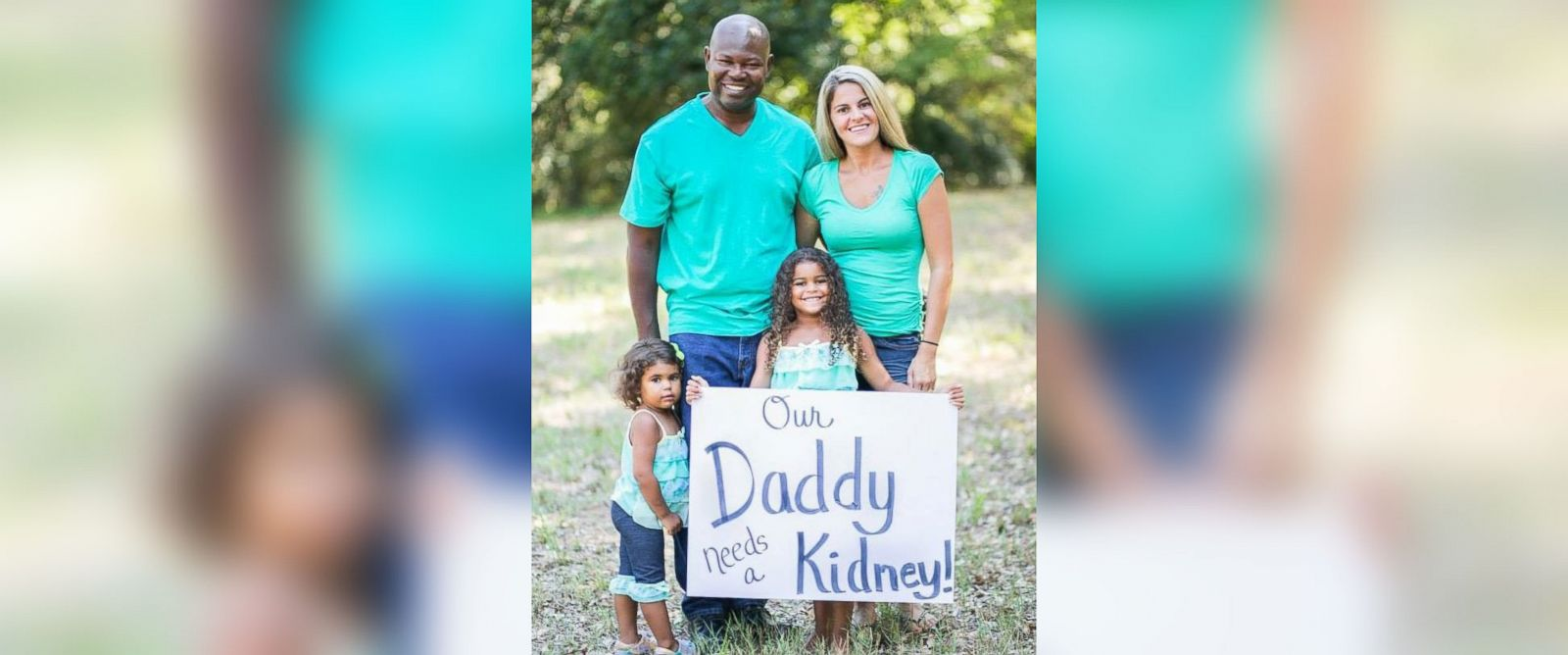 PHOTO: Kristi Callaway used social media to help find a kidney donor for her husband, Raleigh Callaway.