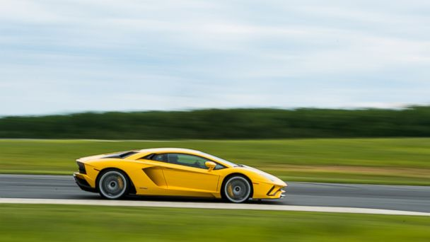 PHOTO: The 2017 Lamborghini Aventador S has a 6.5-liter V12 engine and can hit a top speed of 217 mph.