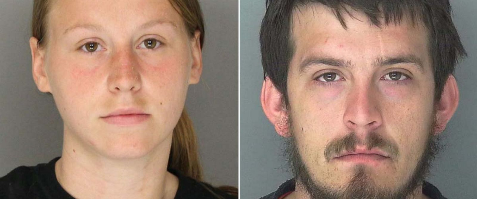 PHOTO: Kayla Norton, 25, and Jose Torres, 26, the parents of three children, were sentenced to prison time for their involvement in a 2015 incident in which they shouted racial slurs and made armed threats at people attending a childs party in Atlanta.