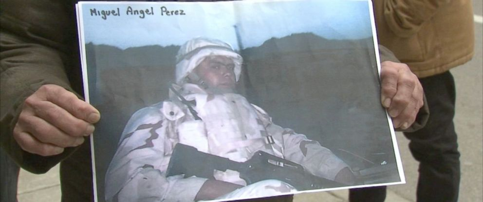 PHOTO: Army Private First Class Miguel Perez is seen here.