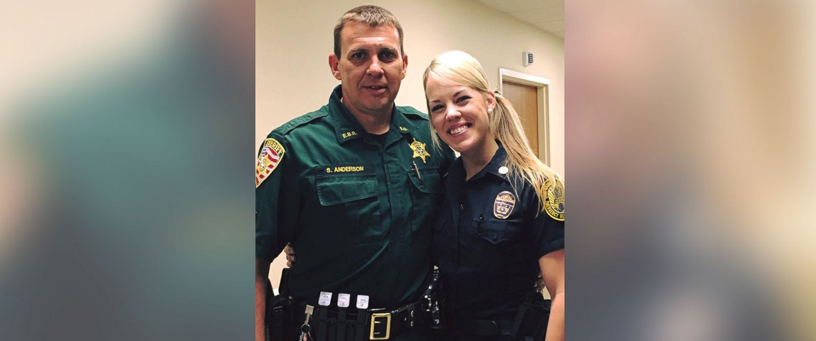 PHOTO: East Baton Rouge Sheriffs Office shared Haley Elizabeth Fishers post on Facebook, March 20, 2017, about Sgt. Shawn Anderson.