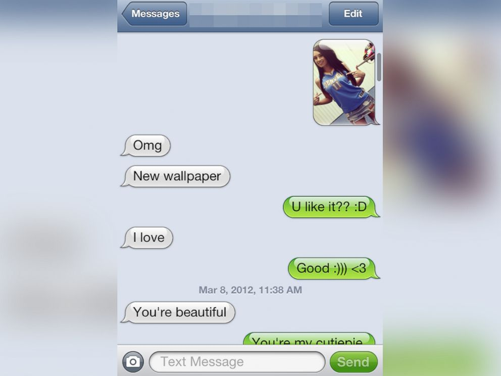 PHOTO: ABC News 20/20 obtained text messages exchanged between Paris Dunn and Chris Birdman Andersen.