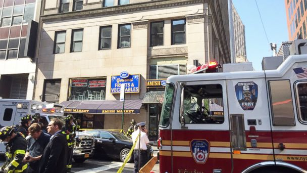 PHOTO: At least 34 people were injured after a building in the Tribeca neighborhood of New York City was found to have elevated carbon monoxide levels, according to officials.