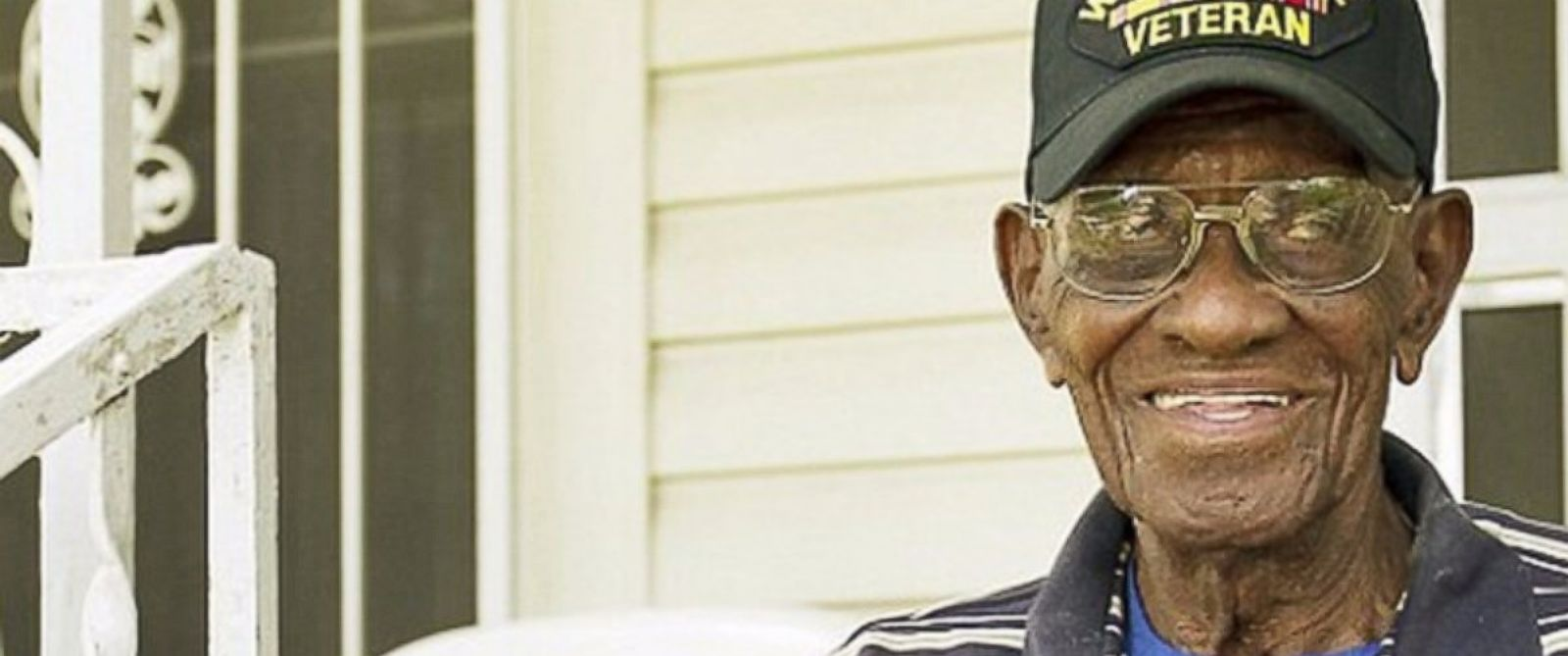 PHOTO: A fundraising campaign has raised $117,000 and counting to help Richard Overton, a 110-year-old World War II veteran, stay in his Austin, Texas, home.