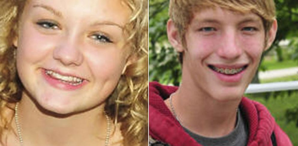 PHOTO: Jayden Nicole Thomas, White female, 13-years-old, from Clare, Mich. and Braxton Michael Edward Wood, White male, 14 years old from Mt. Pleasant, Mich. have been missing since they ran away together on Aug. 26, 2013.