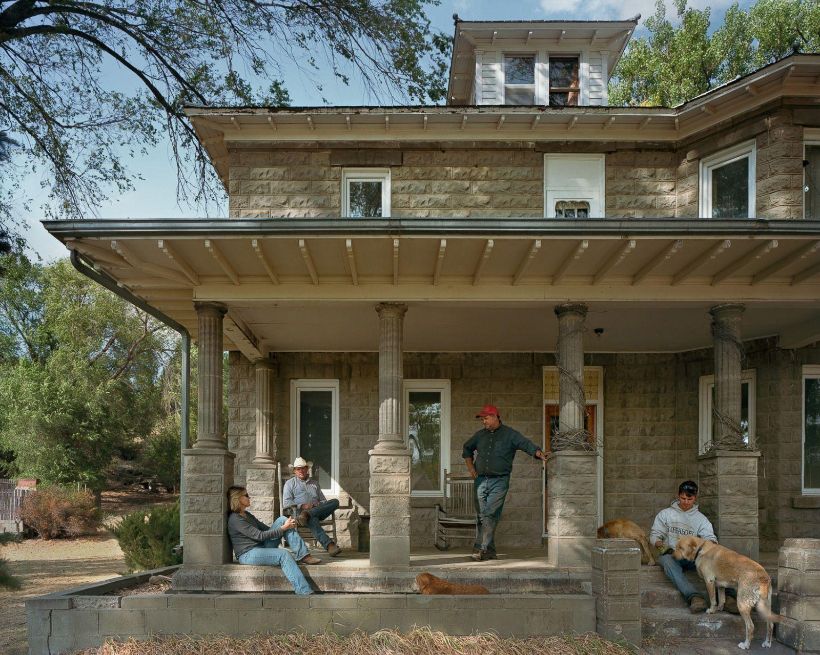 Abbott family at the big house cherry county nebraska for Abbott house