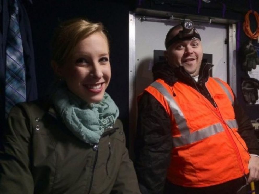 PHOTO: WDBJ in Virginia shared this image of reporter Alison Parker and Adam Ward after reporting that they had been killed in a shooting on Aug. 26, 2015.