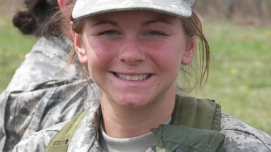 PHOTO: Ashley White in shown in the Army ROTC before she was accepted to the Cultural Support Team.