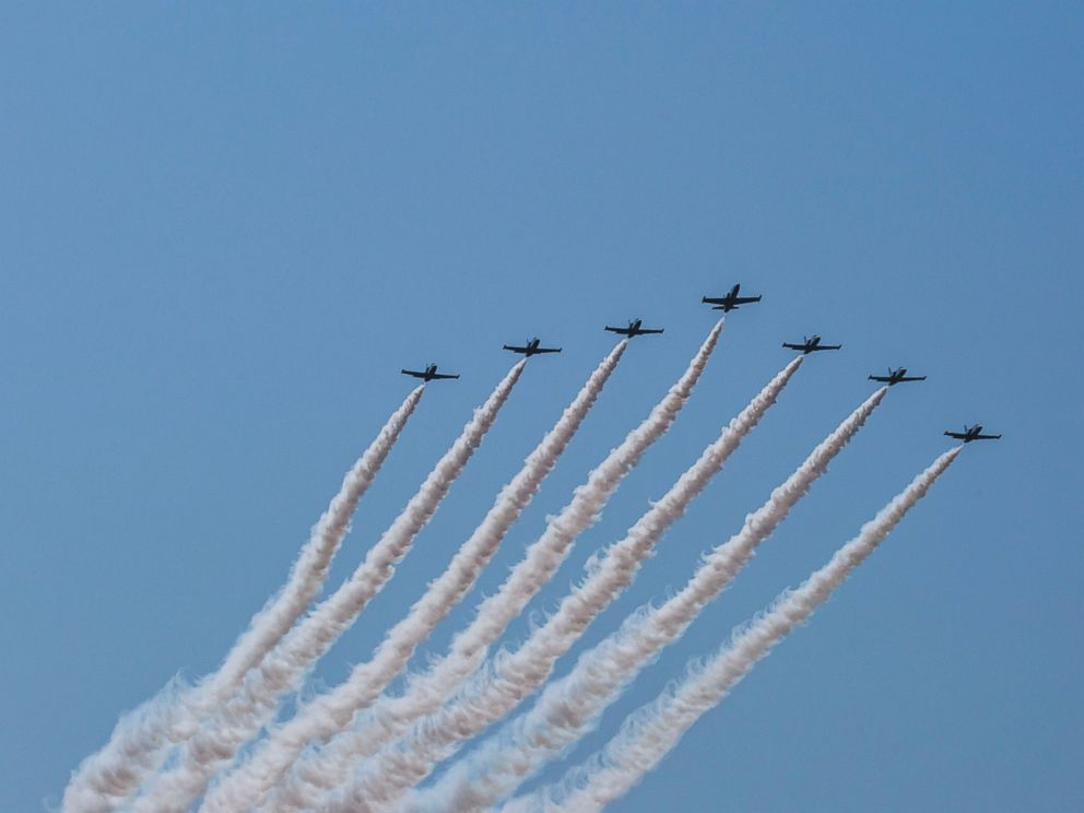 PHOTO: Breitlings Jet Team will conclude its second American tour in October.