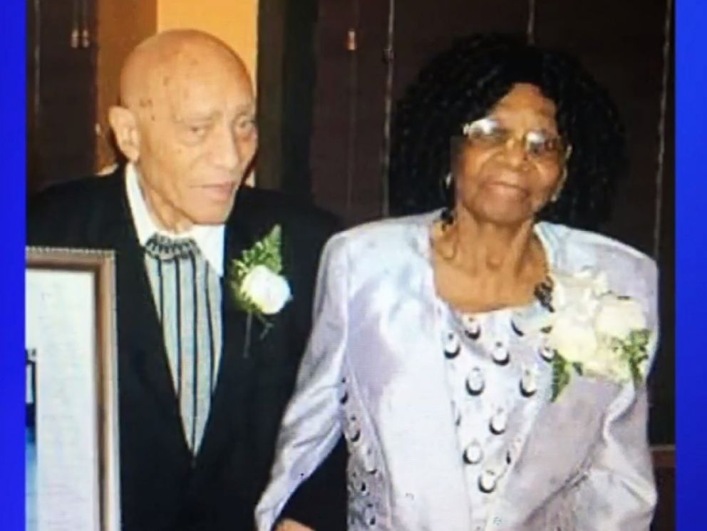PHOTO: Waldiman Thompson, 91, and his wife, Ethline Thompson, 100, who were robbed in their Brooklyn home on Wednesday.