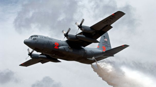 HT C 130H hercules airlift wing MAFFS3 jt 140719 16x9 608 Military Firefighting Planes Called Up to Battle Western Threat