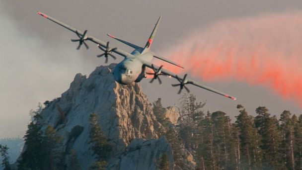HT C130J airlift wing MAFFS4 jt 140719 16x9 608 Military Firefighting Planes Called Up to Battle Western Threat