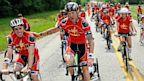 PHOTO: Triathlete Raises Money For Halstead Family