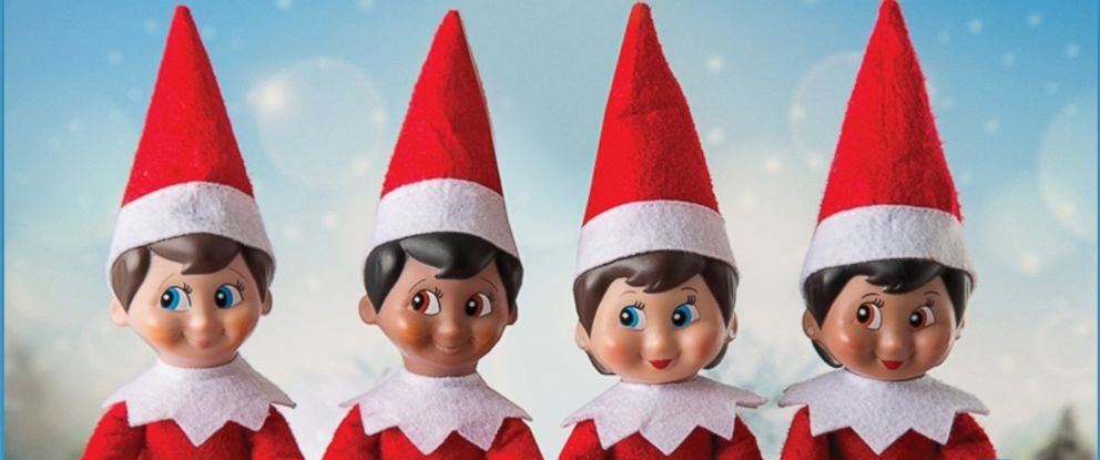 PHOTO:The Elf on the Shelf collection is pictured in this undated file photo.