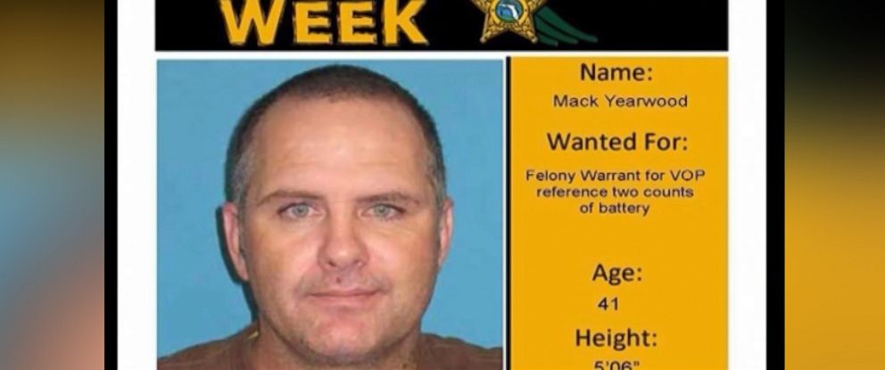 Florida Suspect Uses His Own Wanted Poster as Facebook Profile – Wanted Person Poster