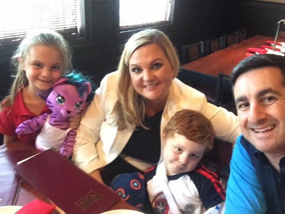 PHOTO: The DeLuca family credits Haus with saving 7-year-old Mollys life.
