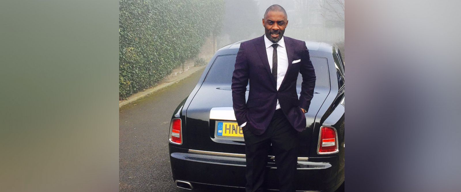 PHOTO: A photo posted to Idris Elbas Twitter account, March 11, 2016. Idris Elba is set to receive the Officer of the Most Excellent Order of the British Empire (OBE) honor at Buckingham Palace.