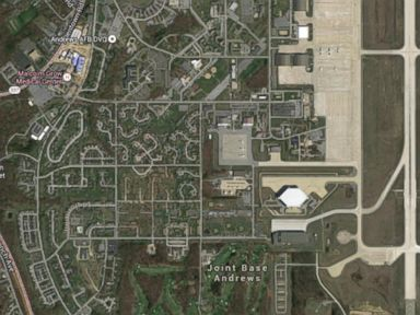 PHOTO: Malcolm Grow medical facility on Joint Base Andrews, in Md., is shown in an undated image from Google Maps.
