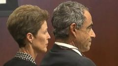 PHOTO: Kim and Dr. Charles Matthews, seen here in court, are on trial for allegedly aiding and abetting underage drinking.